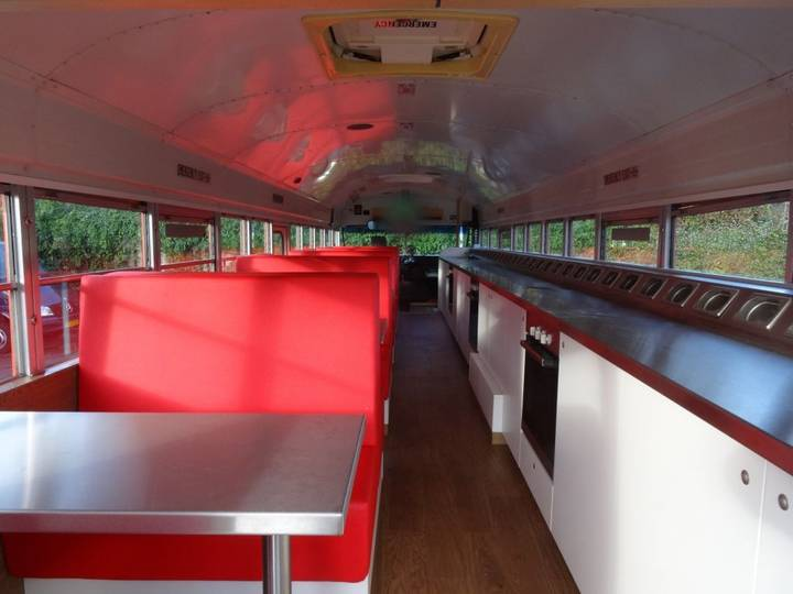 International BLUE BIRD - SCHOOL BUS - FOOD BUS - 1995
