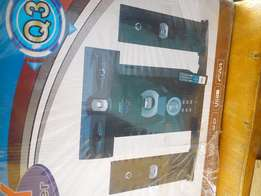 Home Theater with Bluetooth,pen drive and radio. Ghc 260