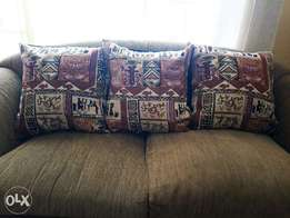 Artsy Couch Pillows and Covers