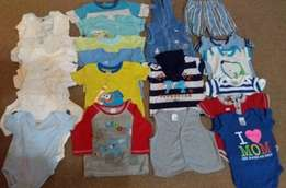 6 - 12 months clothes for boys 57 Items all for R630