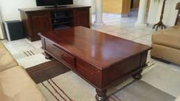 Coffee table and TV cabinet