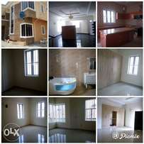 5bedroom duplex with bq at ikate