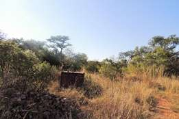 BARGAIN!! Create your dream home on this 2 ha unspoilt bushveld plot.