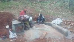 Water well. Well drilling. Well digging & Protection. Well Pump