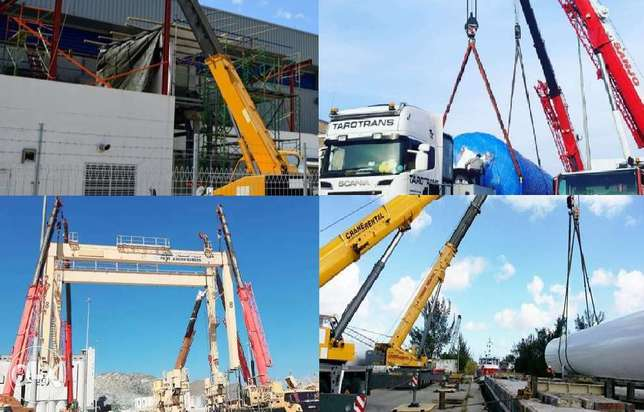 Rental Crane,Manlift,Trailer,Forklift ,,Work Day/Month and PDO