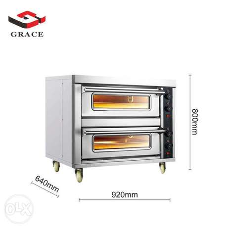 GRACE 2 Desk 2 Tray Commercial Electric Pizza Oven