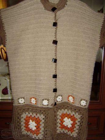 архив пальто вязаное крючком 500 грн женская одежда красилов на Olx