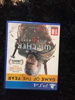 PlayStation 4 game the witcher wild hunt