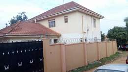 fully furnished 3bedrooms,2bathrooms double storeyed ) at 2m in kisasi