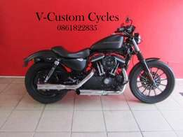Well Looked Sportster 883 Iron 2009 Model