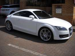 2007 Audi TT 2.0 T Coupe Stronic, White, 114000km, Electric seats ,FSH