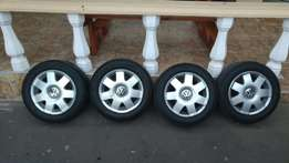 Polo comfortline with tyres!!