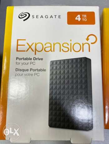 Seagate Expansion 4TB HDD (New!)