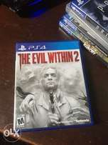 Evil Within 2 PS4 for Sale or swap with WW2