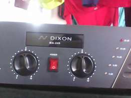 Dixon pa amp for sale