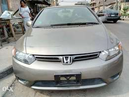 Honda civic 2006 model foreign used