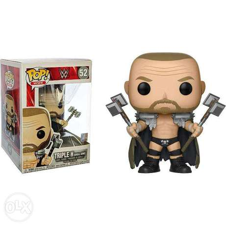Official Funko Pop! WWE - Triple H Skull King Collectible Figure