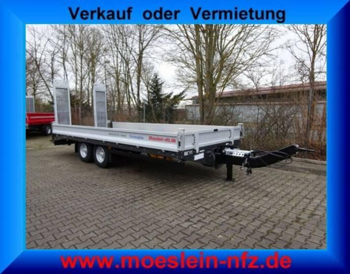 Möslein TTT 13- 6,28 Silber Neuer Tandemtieflader 13 t G - 2019