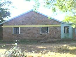 Murang'a 4 bedroom bungalow and land for sale