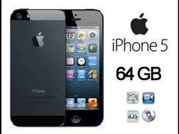 Iphone 5 _64GB Open For All Network