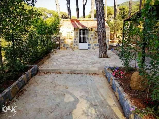 Chalet for daily rent 400LL