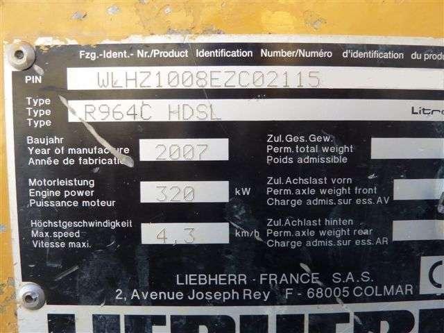 Liebherr R 964c Hd Litronic - 2007 - image 20