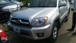few months old Toyota 4runner