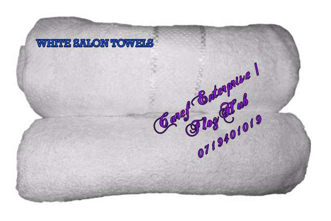 White salon towels at Kshs. 250.00 Nairobi CBD - image 1