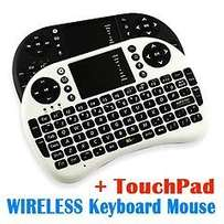 2.4G Mini Wireless Keyboard Mouse with Touchpad for PC Android TV