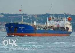 Double Hull Low Draft Oil Tanker 4752 DWT