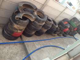 Old tyres for free