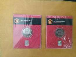 Official Manchester United collectors medal
