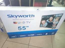 Brand new ultra HD 4k skyworth tv
