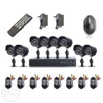 8 Channel CCTV Security System Camera