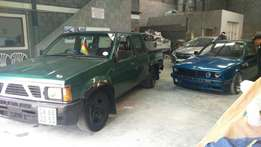 Selling bakkie double cab project for. 40k as is