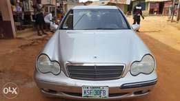1 month used C240 from tokunbo Mercedes Benz