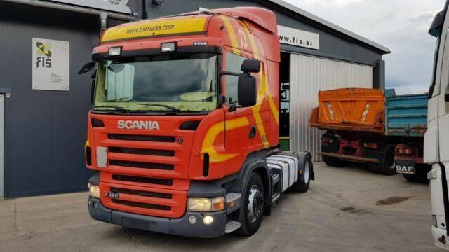 Scania R 420 tractor unit - 2008