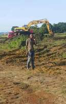 Earthworks and civil works for construction machines and equipments