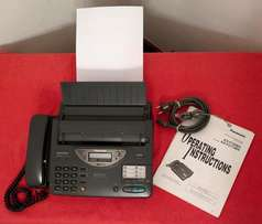 Panasonic Telephone Answering System with Facsimile Fax Copier