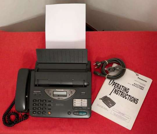 Panasonic Telephone Answering System with Facsimile Fax Copier Lavington - image 1