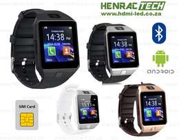 DZ09/ HZ12 Smart Watch Phone, Bluetooth, micro SIM and SD