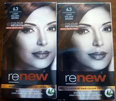 Renew Light Golden Brown Hair Color