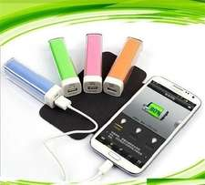 2600mAH Emergency Cellphone Power Bank charger at R50 each
