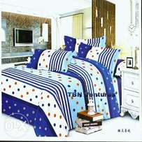 Bedsheet And Duvet With 4 Pillow Cases
