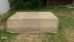 Canvas for a canvas canopy of a D4D single cab Toyota Bakkie