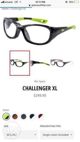 challenger x glasses نص الثمن