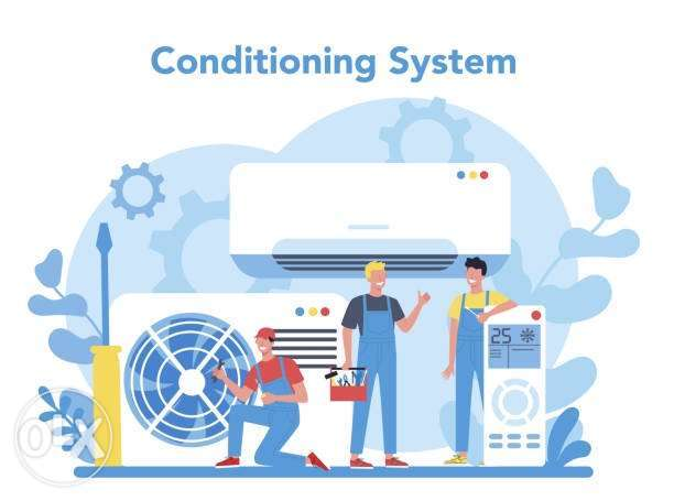 Air conditioning Service and repair maintenance
