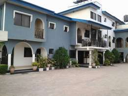 hotel of 32rooms,500capacity event hall on 2plots at Festac Town N180m