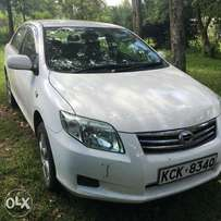 Quick sale of a Toyota Axio