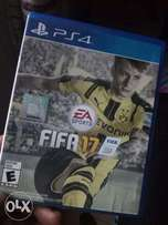 Used fifa 17 game for ps4